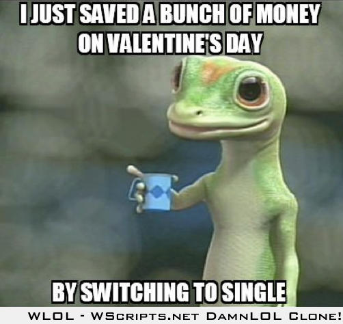 I saved a lot for Valentines Day
